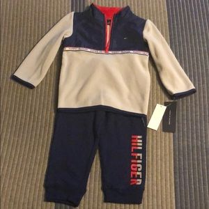 Tommy Hilfiger Baby Boy 2 Piece Outfit